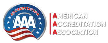 AAA – American Accreditation Association Logo