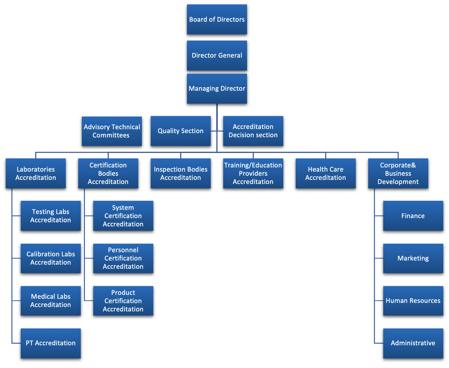 AAA Management Structure