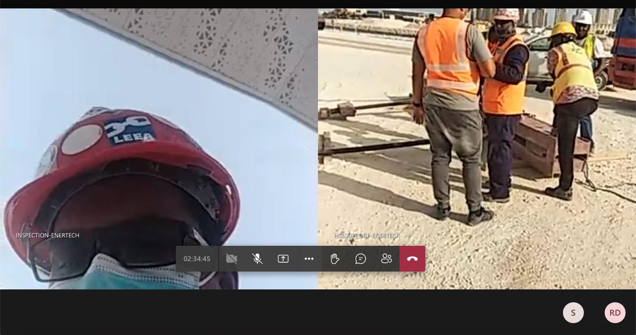 Remote Inspection for Enertech Qatar